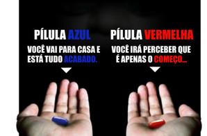 Pílula vermelha ou pílula azul? O que seu relacionamento com a comida diz sobre você?