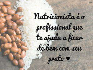 Qual o papel do nutricionista?