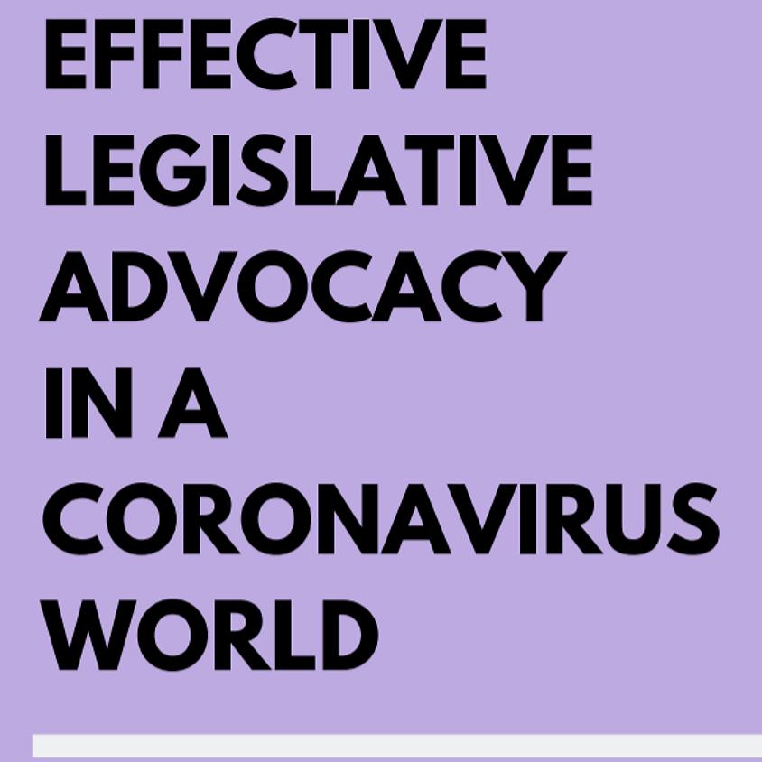 Effective Legislative Advocacy in a Coronavirus World