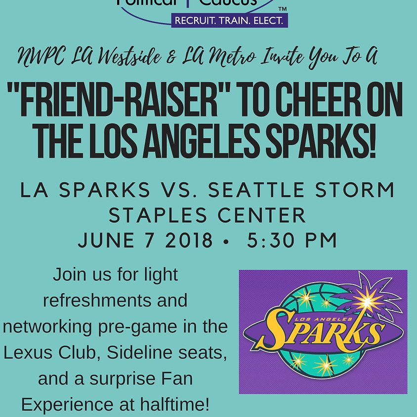 FRIENDRAISER at the SPARKS!