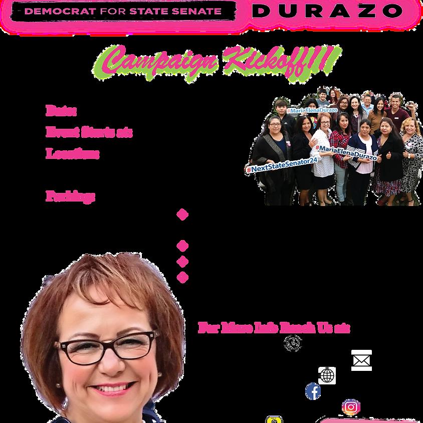 Maria Elena Durazo Campaign Kick-Off