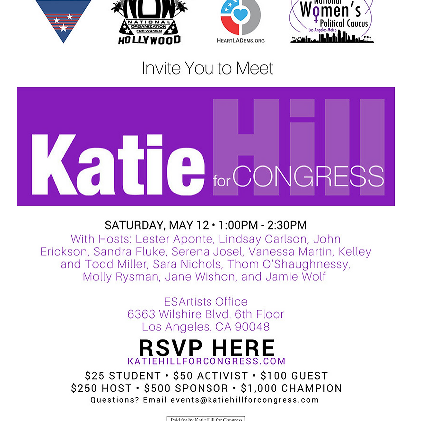 Katie Hill Fundraiser