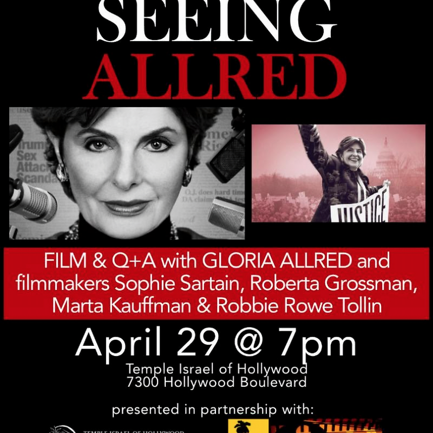 Seeing Allred -- Screening & Q+A with Gloria Allred