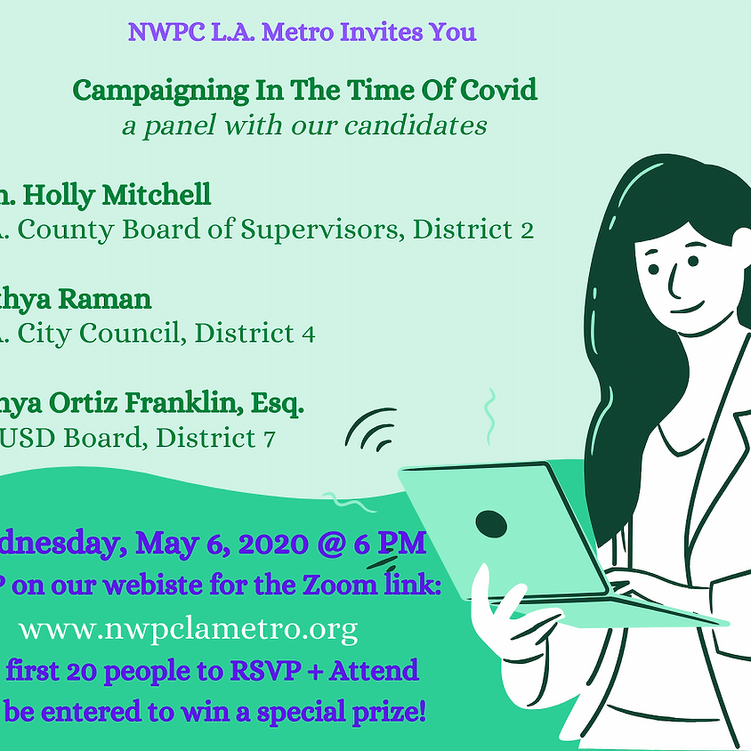 Campaigning in the Time of Covid: A Panel with our Candidatates