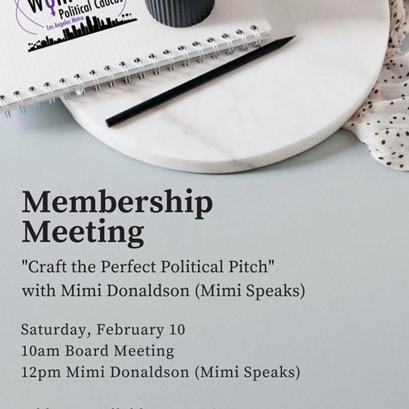 NWPC LA Metro Membership Meeting