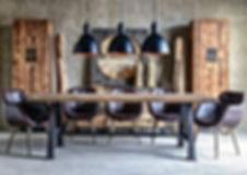 Ambiente maderas y metal, Casa Bianca