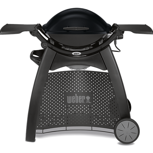 WEBER® Q 2400 STATION  ELECTRIC GRILL WITH TABLES