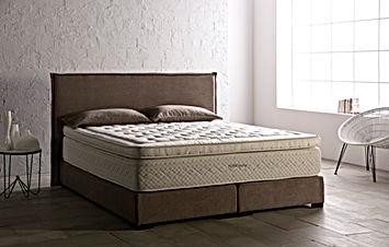 Cama SOFT con box spring bed