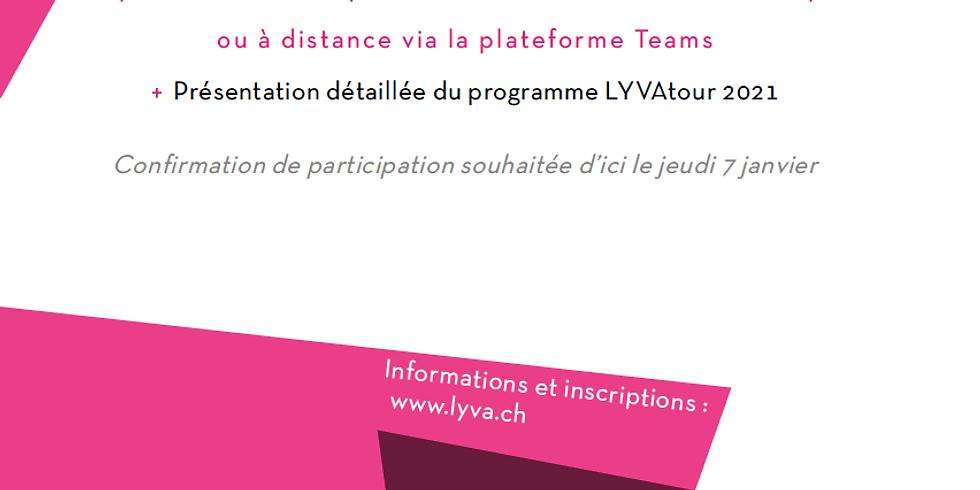 Voeux 2021 - présentation du programme LYVAtour
