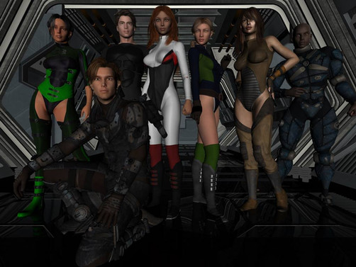 Crew of The Phoenix