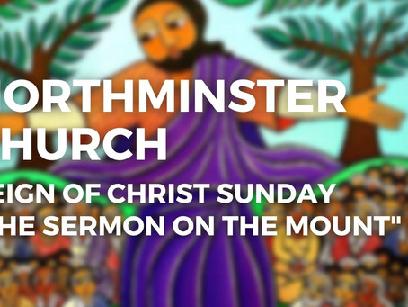 """""""The Sermon on the Mount,"""" by... well... Jesus."""