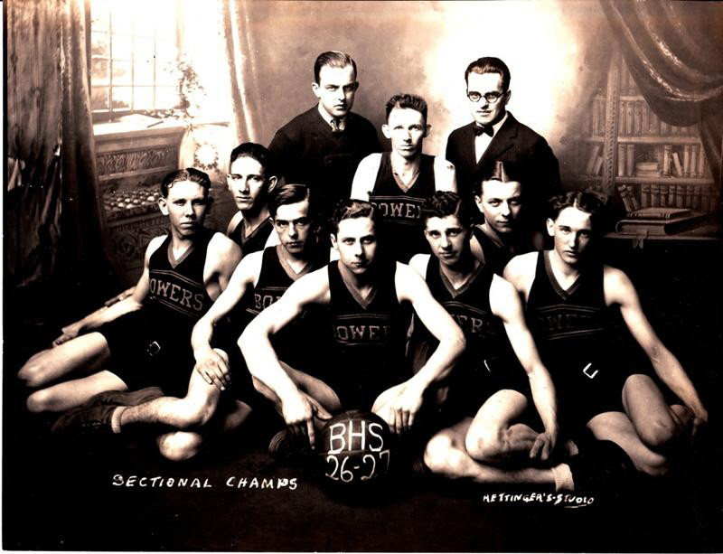 Bowers won the sectional in 1927.