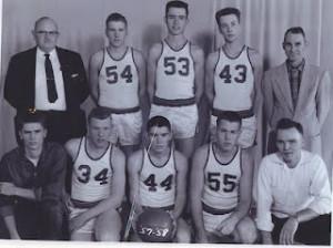 Alamo Basketball 1957-1958