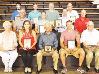 County Hall of Fame inducts new members