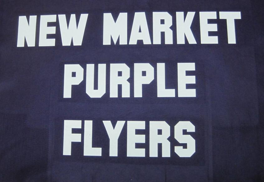 New Market Purple Flyers