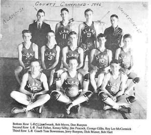 Alamo basketball 1946