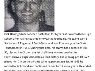 Remembering Dick Baumgartner