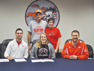 Adams signs with LCU
