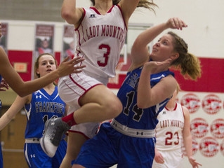 Mounties dominate Hot Dogs in 69-34 win