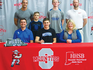 Chadd signs with Bethel