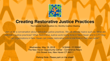 Creating Restorative Justice Practices