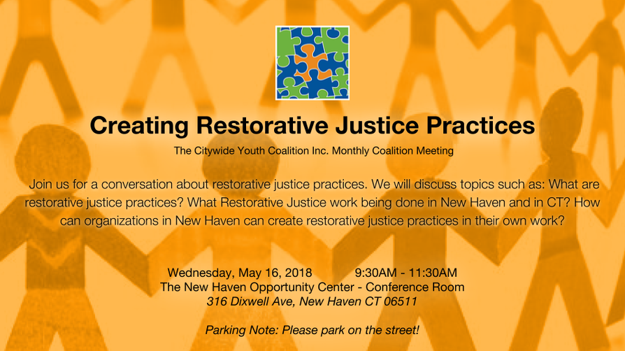 Creating Restorative Justice Practices