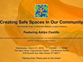Creating Safe Spaces In Our Community