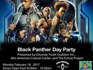 Black Panther Day Party