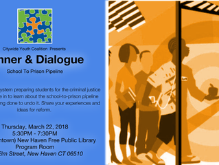 Dinner & Dialogue: School To Prison Pipeline