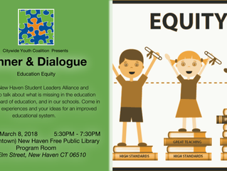 Dinner & Dialogue: Education Equity