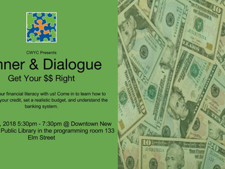 Dinner & Dialogue: Get Your Money Right
