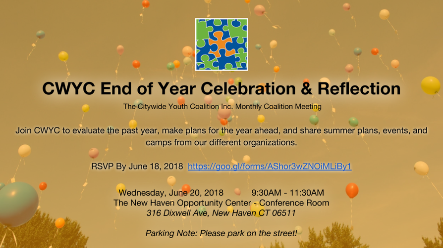 CWYC End of Year Celebration & Reflection