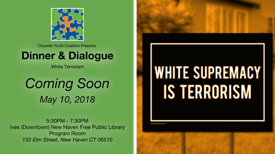 COMING SOON - Dinner & Dialogue: White Terrorism