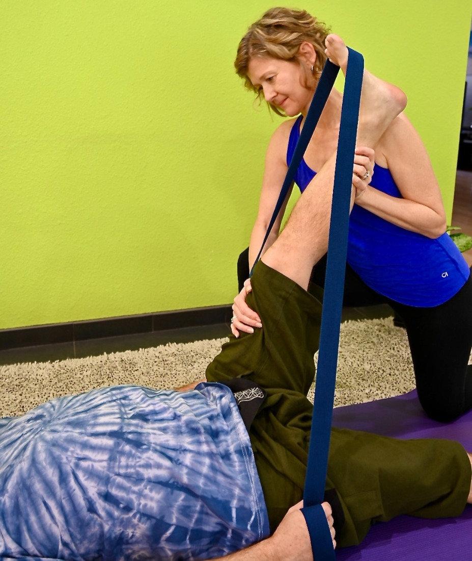 Therapeutic Yoga Session