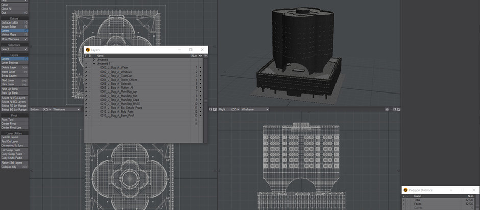 How to import Kitbash 3D meshes into Lightwave 3D