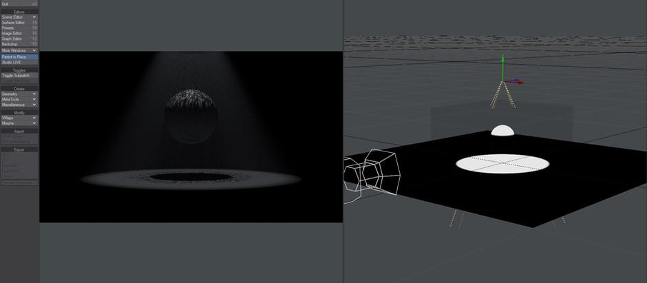 How to render volumes faster in Lightwave 3D?