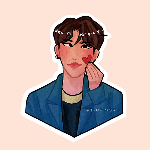 KSJ Kpop-Inspired Sticker (@nectoclock)