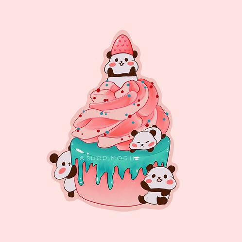 Panda Bday Sticker (@_pandoodle)