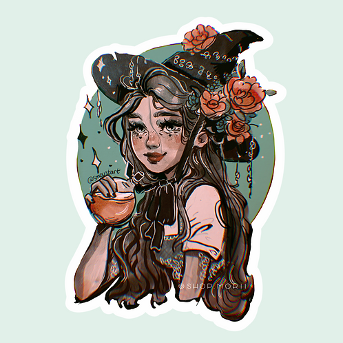 Witch Sticker (@smoustart)