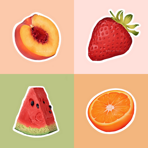 Fruit Sticker Pack (@vrpspam)