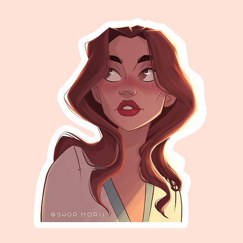 """Beauty"" Sticker (@agnesillustrates)"