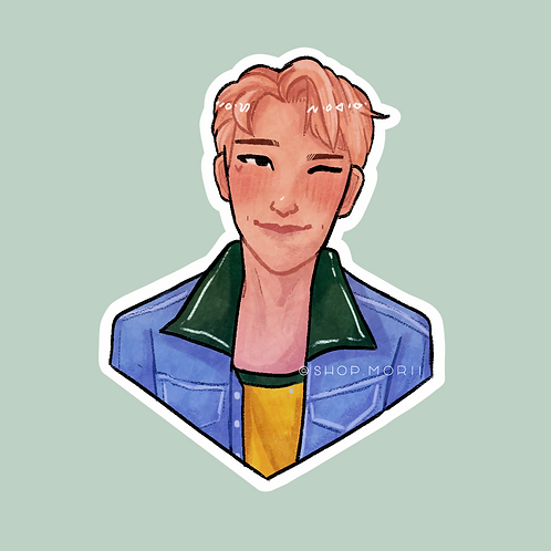 KNJ Kpop-Inspired Sticker (@nectoclock)