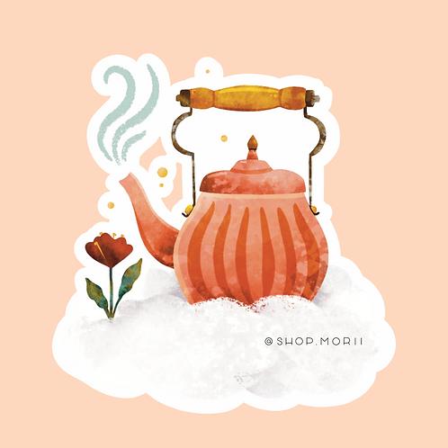 Tea Pot Sticker (@kristinheldtart)