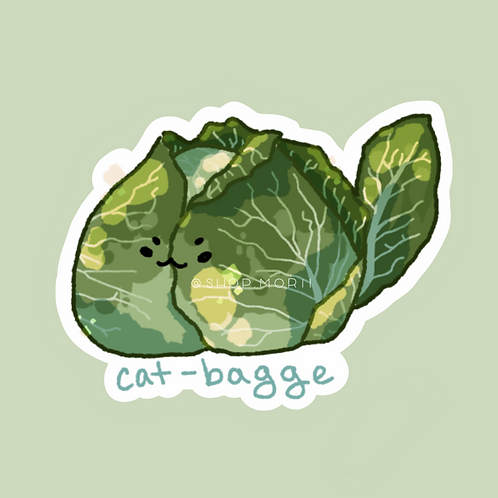 Cat-bagge Sticker (@zneebs_)
