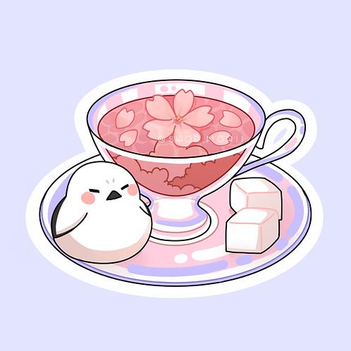 Tea-Bird Sticker (@leendoodles)