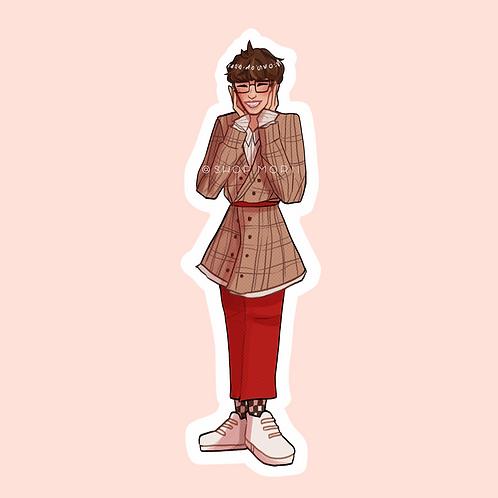 Perfect Maknae YangJeongin-Inspired Sticker (@nectoclock)