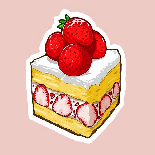 Strawberry Cake Sticker (@lessonguy)