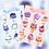 "Thumbnail: 5"" x 7"" Patchi & Biru Sticker Sheets Pack (@leendoodles)"
