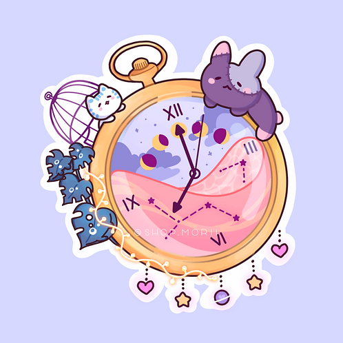 Pocketwatch Sticker (@leendoodles)