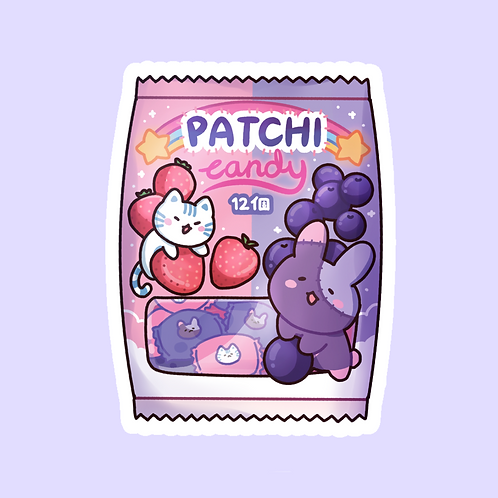 Patchi Candy Sticker (@leendoodles)